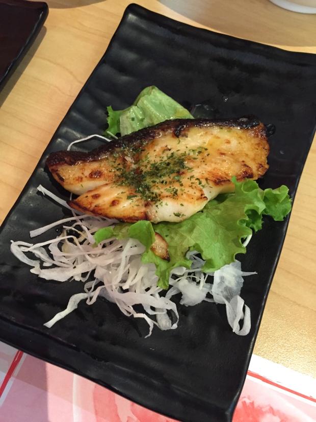 Roasted Black Cod with Miso Glaze - $10